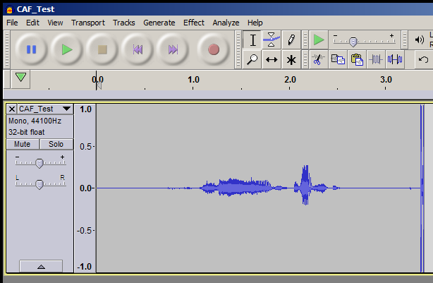 ''CAF_Test'' in Audacity 2-1-3 in Windows Vista.png