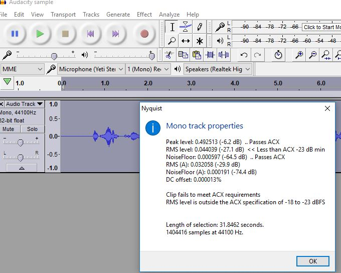 Audacity sample ACX check after effects.JPG