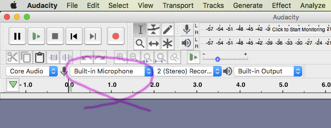 You want USB something as recording device, not  ''built-in microphone''.png